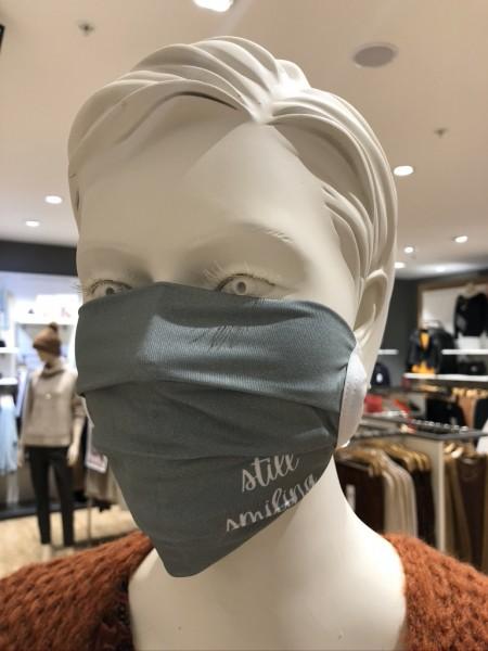 """Mund- und Nasen-Maske """"still smiling"""""""