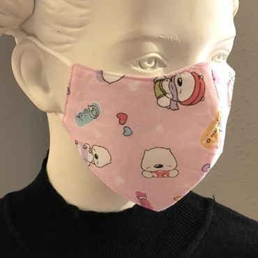 """Fashion Mask For Kids """"Kleiner Eisbär"""""""