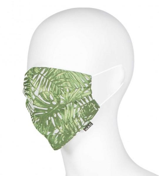 """MAC-Masken """"Green Watercress"""" Zweierpack mit Aufbewahrungssäckchen"""