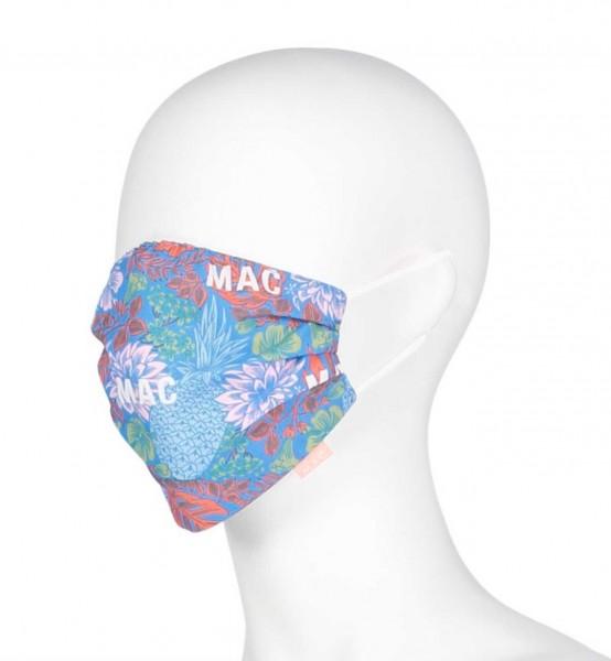 """MAC-Masken """"Blue Aster"""" Zweierpack mit Aufbewahrungssäckchen"""