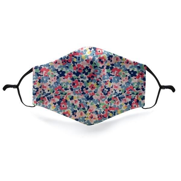 """Mund- und Nasen-Maske """"Blossoms Multicolor"""""""