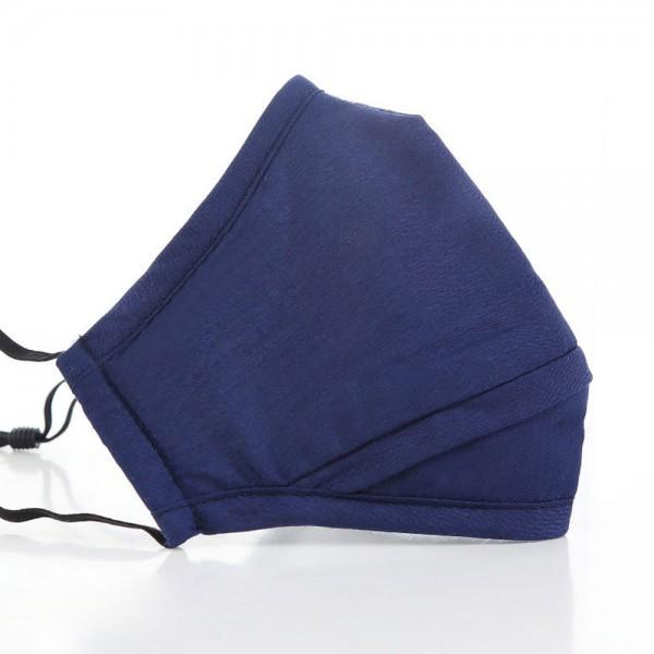 Mund- und Nasen-Maske Perfect FIT Blau für perfekten Sitz