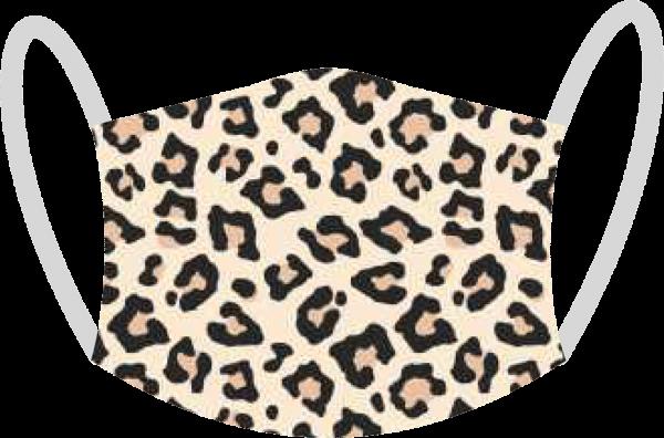 """Mund- und Nasen-Maske """"Leopard"""""""