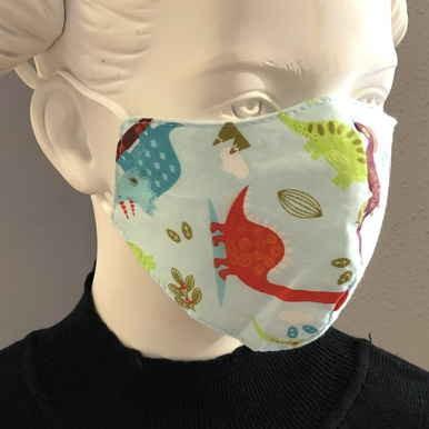 "Fashion Mask For Kids ""Dino World"""