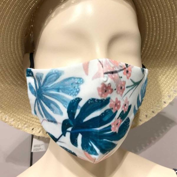 """Mund- und Nasen-Maske """"Lagoo Flowers"""""""