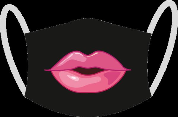 """Mund- und Nasen-Maske """"Kiss"""""""