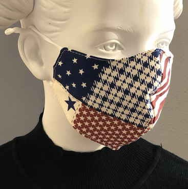 """Fashion Mask For Kids """"Flags and Flags"""""""